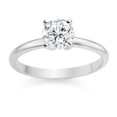Round Cut 0.75 Carat G/SI1 Platinum Diamond Engagement Ring £1,999