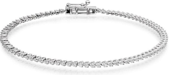 1.00 Carat Tennis Diamond Bracelet £2159, Vashi.com