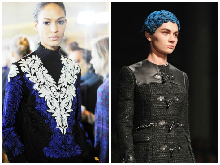 Blue fashion trends, Vashi.com