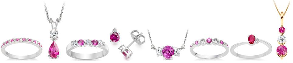 Pink power jewellery, Vashi.com, Vashi Dominguez, pink sapphire, ruby