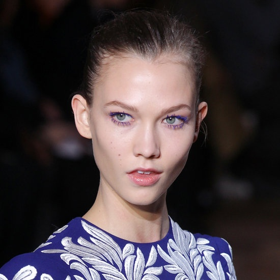 stella mccartney electric blue lashes, Vashi.com, blue fashion story