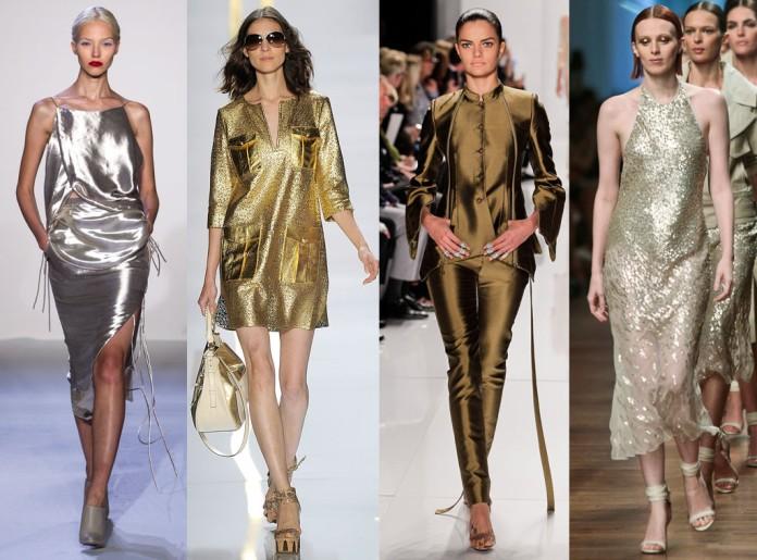 metallic, fashion trend, mixed metals