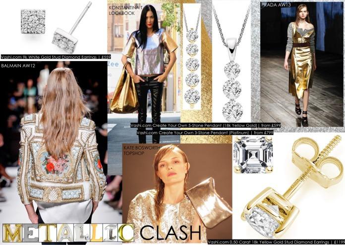 VASHI.COM METALLIC CLASH, fine jewellery, diamonds